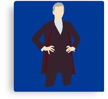 12th Doctor- Peter Capaldi Canvas Print