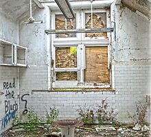 Operating Theatre at the Asylum by DavidWHughes