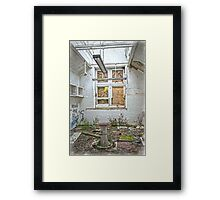Operating Theatre at the Asylum Framed Print