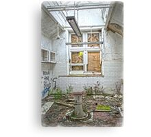 Operating Theatre at the Asylum Canvas Print