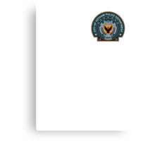 Gotham Police Deparment Badge (Pocket Size) Canvas Print