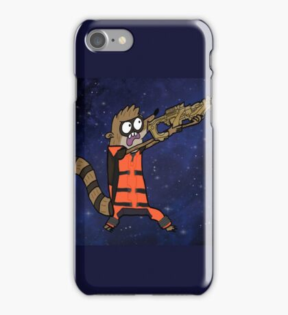 Rocket Rigby iPhone Case/Skin