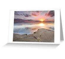 Wynnum Sunrise -Brisbane Qld Australia Greeting Card