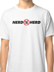 The Nerd Herd: Highest Vector Quality Graphic! - 2017 Edition Classic T-Shirt