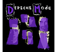 Depeche Mode : Paint of Song Of Faith and Devotion - Without title Photographic Print