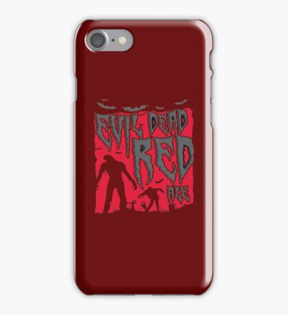 Evil Dead Red Ale Beer iPhone Case/Skin