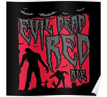 Evil Dead Red Ale Beer Poster