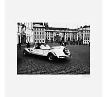 Classic Wheels in Prague Photographic Print