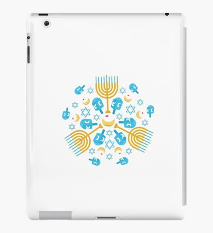Hanukkah Pattern iPad Case/Skin