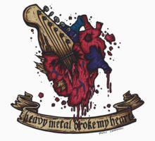 Heavy metal broke my heart! T-Shirt