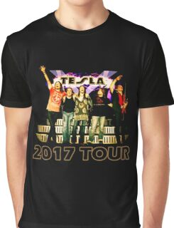 The Hits Band Tesla Tour 2017 Graphic T-Shirt