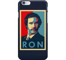 Ron Burgundy (Obama Style) iPhone Case/Skin