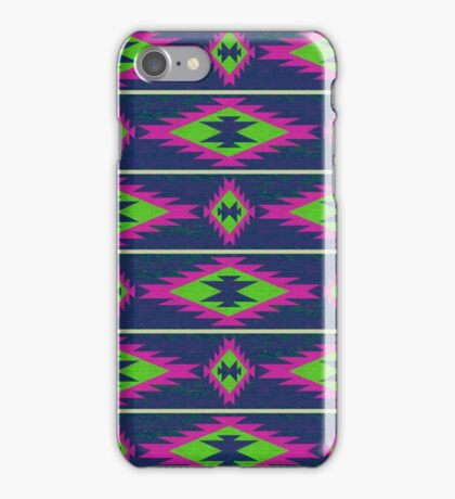 Native American Print Style 10 iPhone Case/Skin