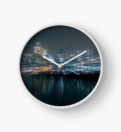 Warp City 10 Clock