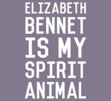 Elizabeth Bennet_White Kids Tee