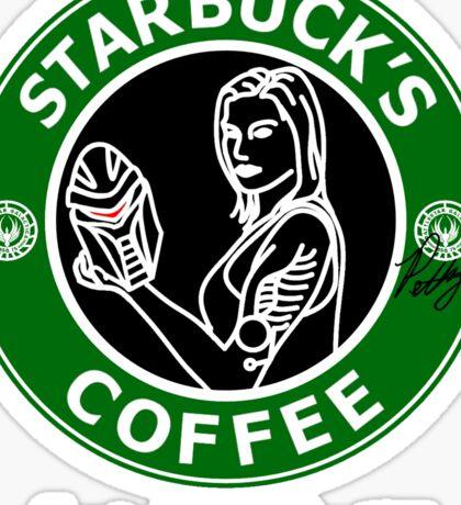 Starbuck's Coffee Sticker