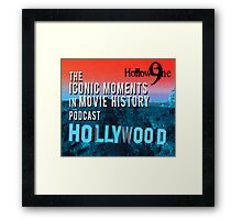 Hollow9ine_Iconic Moments In Movie History_2016 Framed Print