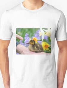 Why? Duckling Springs Flowers - NZ T-Shirt