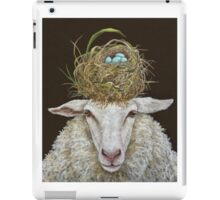 Judith the Sheep with nest iPad Case/Skin