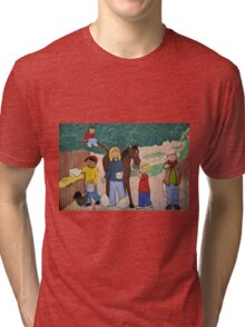 Family and Friends Tri-blend T-Shirt