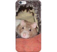 relaxed rat iPhone Case/Skin