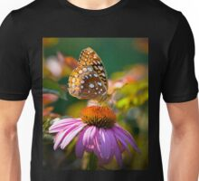 Butterfly and Coneflower Unisex T-Shirt