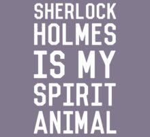Sherlock Holmes_White Kids Tee