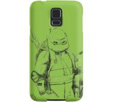 Turtle Power TMNT 1990 Pencils Samsung Galaxy Case/Skin