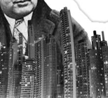 Al Capone (white) Sticker