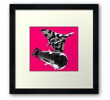 Atomic bomb Framed Print