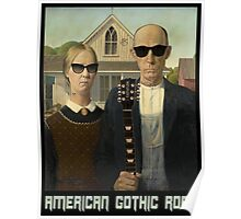American Gothic Rock T Shirt Poster