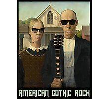 American Gothic Rock T Shirt Photographic Print