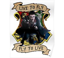 Fly to Live Poster
