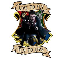 Fly to Live Photographic Print