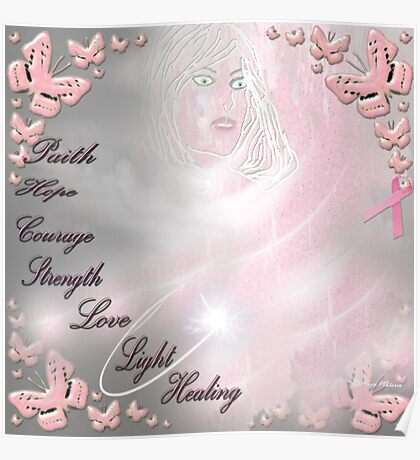 breast cancer awareness month. Poster