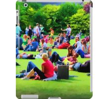 Saturday in the Park, Dublin iPad Case/Skin