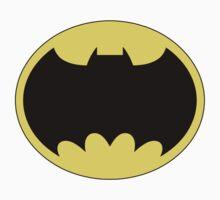 DKR TV round Bat One Piece - Short Sleeve