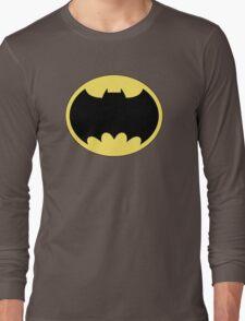 DKR TV round Bat Long Sleeve T-Shirt