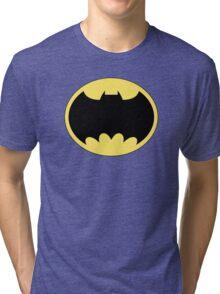 DKR TV round Bat Tri-blend T-Shirt