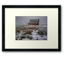 Lets Paint The Town ~ Snow ~ Framed Print
