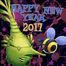 HAPPY NEW YEAR 2017 by Mike Cressy