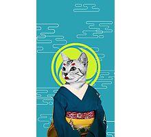 geisha cat Photographic Print