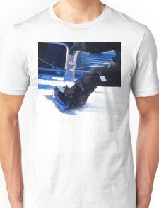 Snowboarder Skidding Winter Sports Gift Unisex T-Shirt