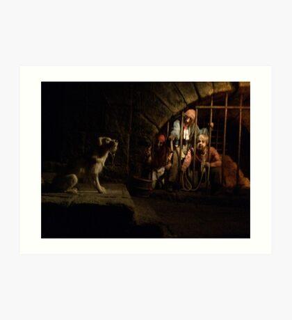 Come Here Little Puppy - Pirates Art Print