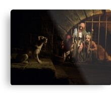 Come Here Little Puppy - Pirates Metal Print