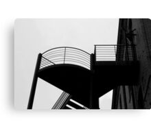 Staircase Silhouette Canvas Print