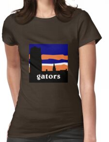 University of Florida Century Tower - gators Womens Fitted T-Shirt