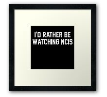 NCIS Framed Print