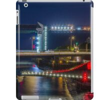 The Tidal Barrier and Scale lane bridge iPad Case/Skin