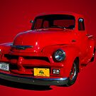 1955 Chevrolet Pickup Truck Early Version by TeeMack